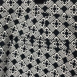 Tory Burch Pants - Tory Burch Black/White Hi-Waisted Cropped pants